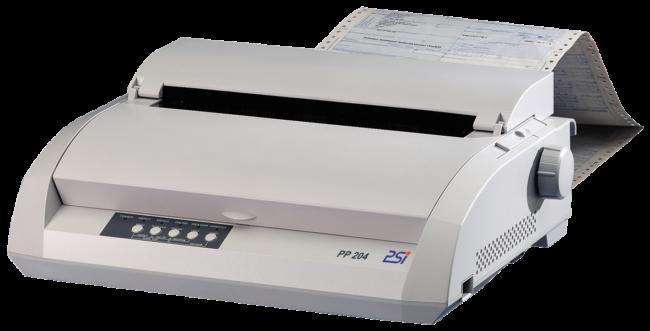 L'imprimante matricielle PSi PP 204