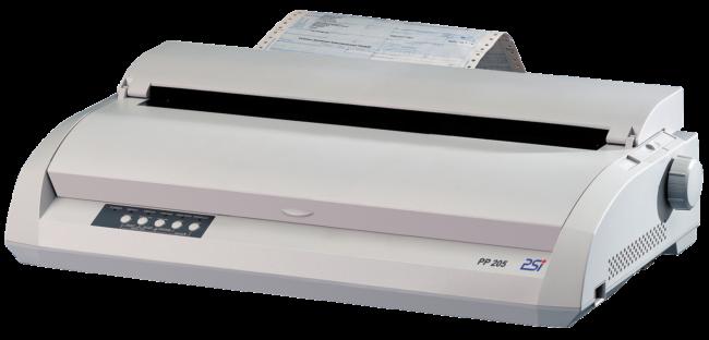 L'imprimante matricielle PSi PP 205