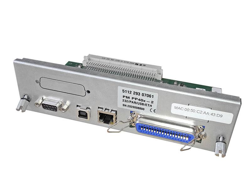 PM PNS Ethernet, USB, Parallel und Seriell für Serie 40x