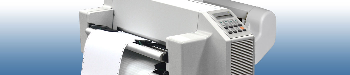 line printer banner