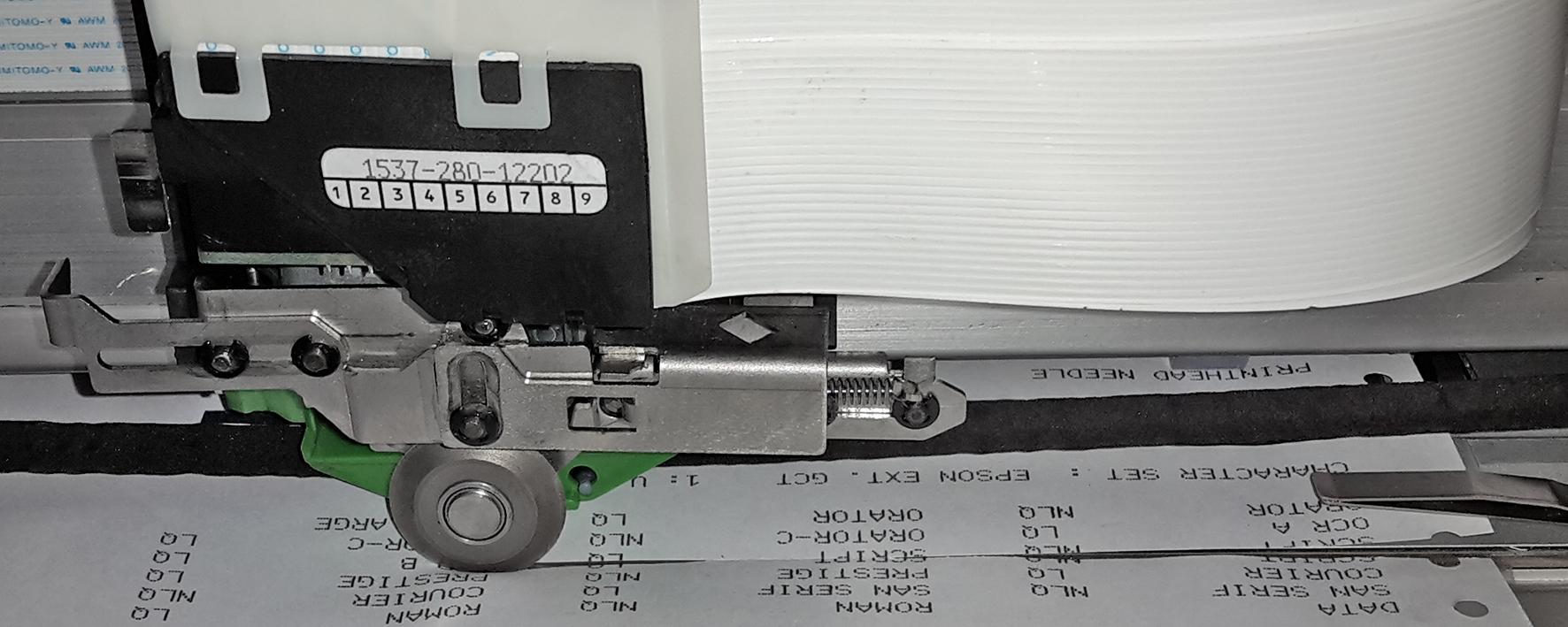 Zeilenmatrixdrucker_Schneider